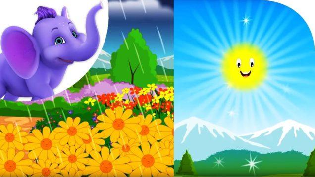 Sometimes Sun, Sometimes Rain – Nursery Rhyme with Karaoke