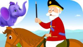 The Grand Old Duke of York – Nursery Rhyme with Karaoke