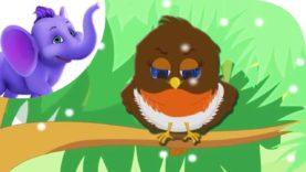 The Robin – Nursery Rhyme with Karaoke