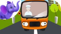 The Wheels on the Bus – Nursery Rhyme with Karaoke