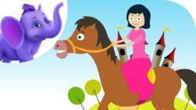 This is the Way Ladies Ride – Nursery Rhyme with Karaoke