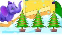 Three Chistmas Trees – Nursery Rhyme with Lyrics
