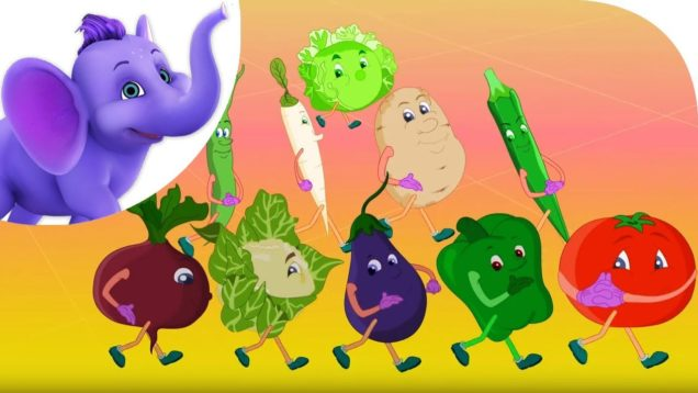 Vegetables are Good for Me – Nursery Rhyme with Karaoke