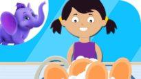 Wash the Dishes – Nursery Rhyme with Karaoke