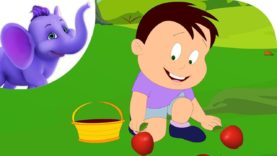 Yummy Apples – Nursery Rhyme with Karaoke