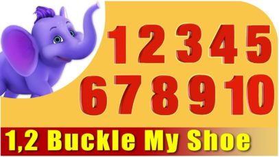 1, 2 Buckle My Shoe   Hindi Rhymes from Appuseries (4K)