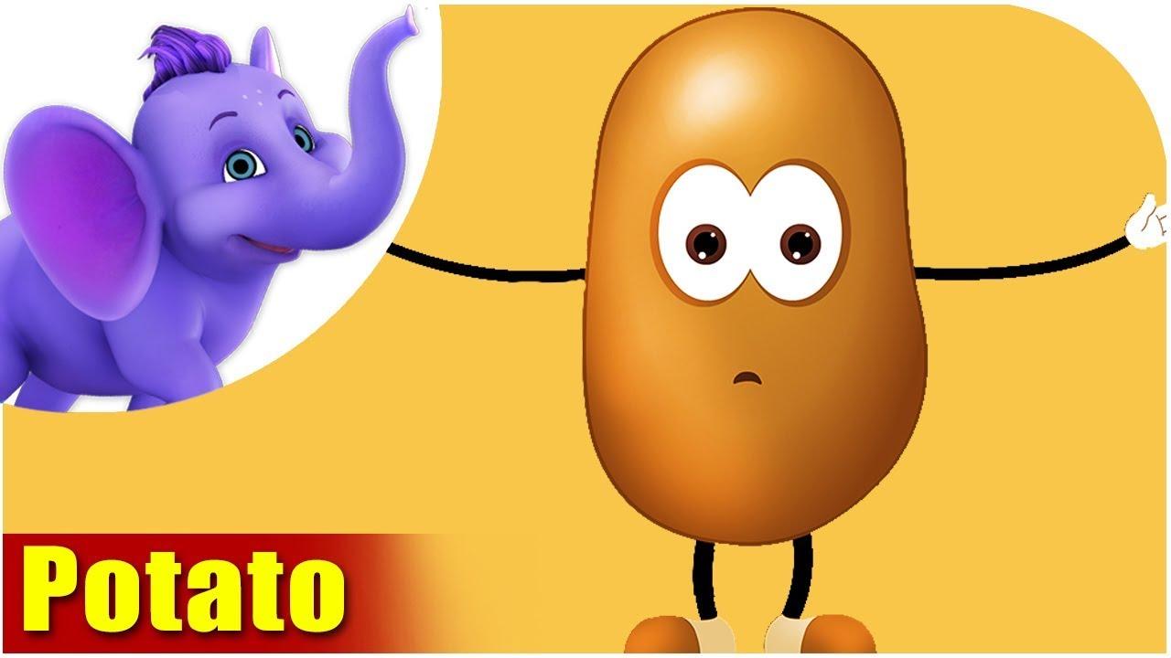 Aloo (Potato) – Vegetable Rhymes in Hindi