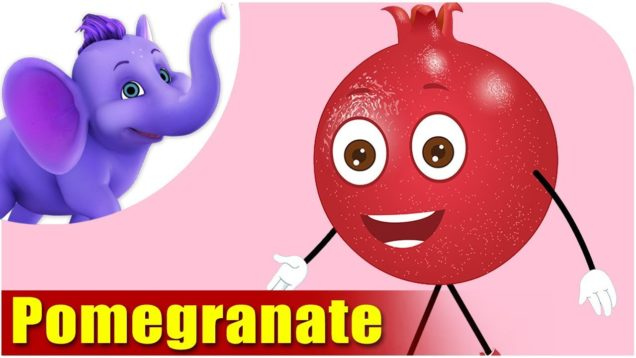 Anaar – Pomegranate Fruit Rhyme in Hindi