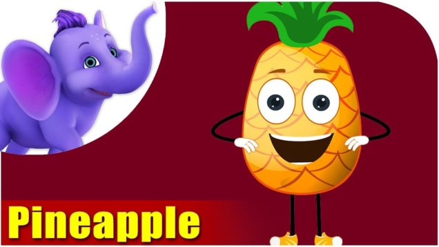 Ananas – Pineapple Fruit Rhyme in Marathi