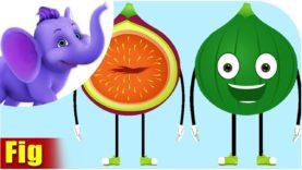 Anjeer – Fig Fruit Rhyme in Hindi