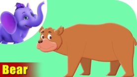 Aswal (Bear) Animal Rhyme | Marathi Rhymes from Appuseries