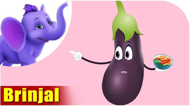 Baingan (Brinjal) – Vegetable Rhymes in Hindi