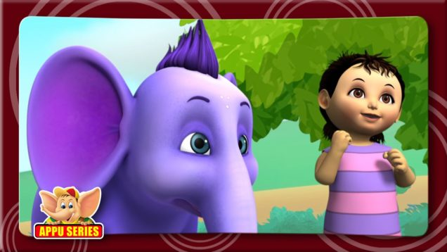 Bandar Mama 3D Rhymes in Hindi