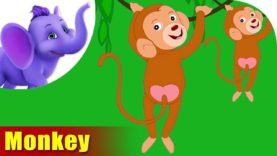 Bandar (Monkey) – Animal Rhymes in Hindi