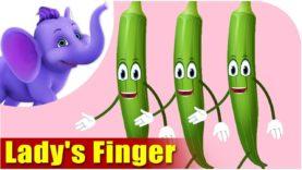 Bhindi (Lady's Finger) – Vegetable Rhymes in Hindi