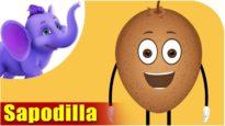 Cheeku – Sapodilla Fruit Rhyme in Hindi