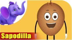 Cheeku – Sapodilla Fruit Rhyme in Hindi