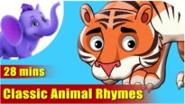 Classic Animals Rhymes in Hindi