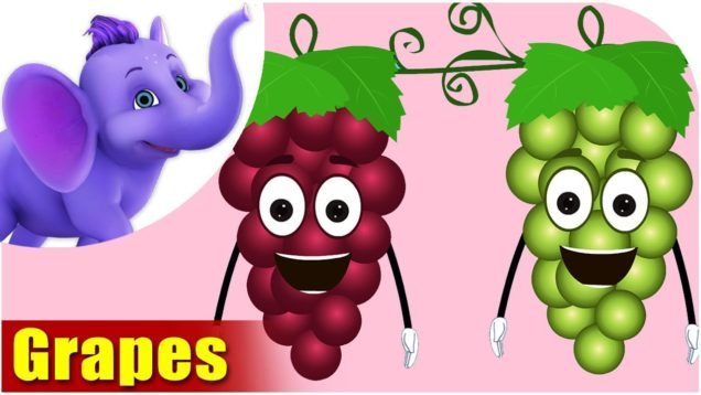 Draakshe – Grapes Fruit Rhyme in Marathi