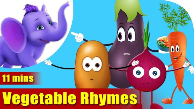 Favorite Vegetable Rhymes in Hindi
