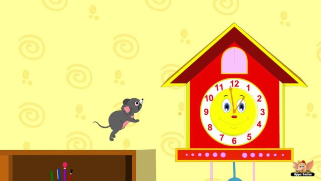 Hickory Dickory Dock in Bengali – Nursery Rhyme