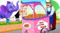 Hot Cross Buns in Telugu