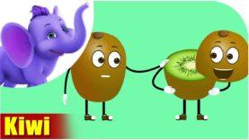 Kiwi Fruit Rhyme in Marathi