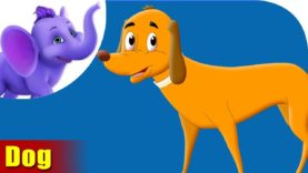 kutra (Dog) – Animal Rhymes in Marathi