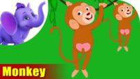 Makad (Monkey) – Animal Rhymes in Marathi