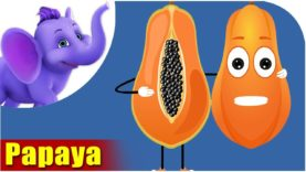 Papita – Papaya Fruit Rhyme in Hindi