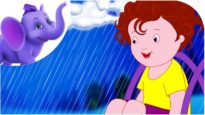 Rain Rain Go Away in Telugu