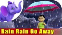 Rain, Rain Go Away Nursery Rhyme in 4K | Marathi Rhymes From APPUSERIES