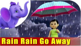 Rain, Rain Go Away Nursery Rhyme in 4K | Marathi Rhymes From