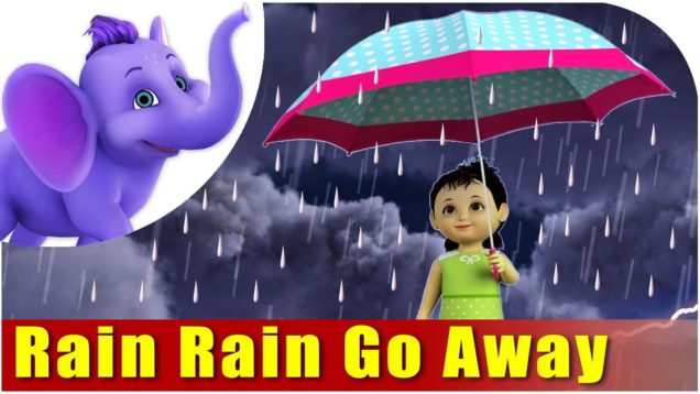 Rain, Rain Go Away Nursery Rhyme in 4K | Marathi Rhymes From APPUSERIES