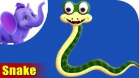 Saanp (Snake) Animal Rhymes | Hindi Rhymes from Appuseries