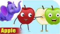 Safarchand – Apple Fruit Rhyme in Marathi
