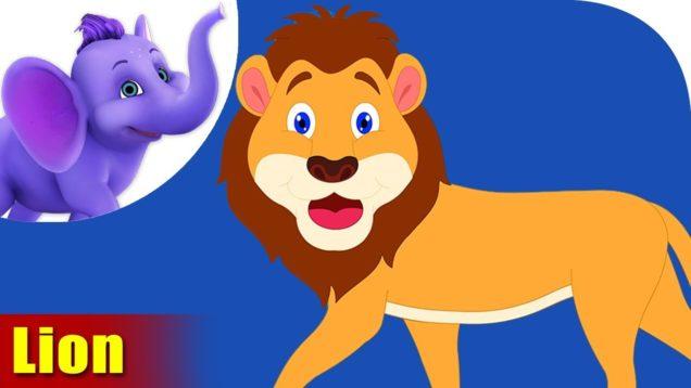 Sher (Lion) – Animal Rhymes in Hindi