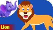 Sinha (Lion) – Animal Rhymes in Marathi