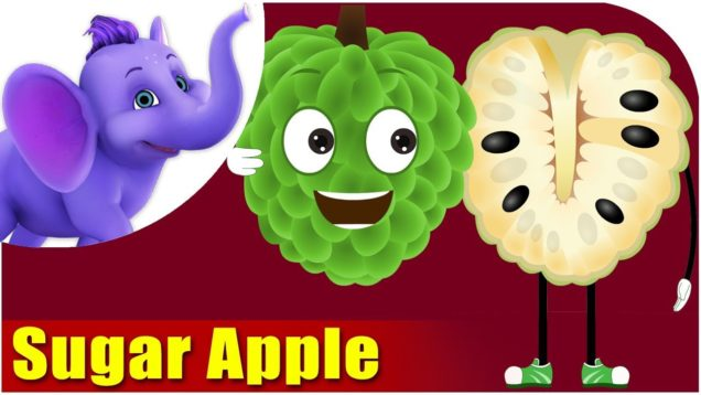 Sitafal – Sugar Apple Fruit Rhyme in Marathi
