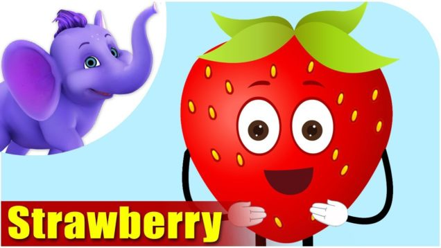 Strawberry – Fruit Rhyme in Marathi