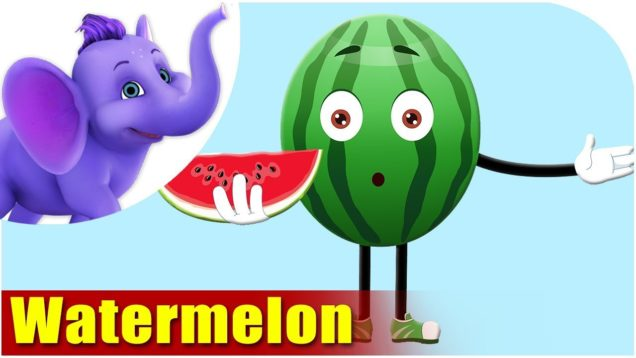 Tarbooz – Watermelon Fruit Rhyme in Hindi