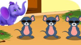 Three Blind Mice in Hindi