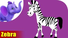 Zebra Animal Rhymes | Hindi Rhymes from Appuseries