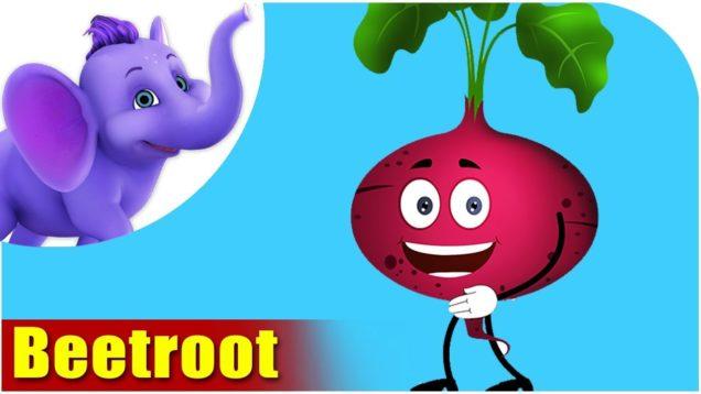 Chunkandar (Beetroot) – Vegetable Rhymes in Hindi