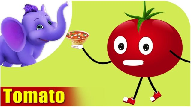 Tamaatar (Tomato) – Vegetable Rhymes in Hindi