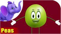 Matar (Peas) – Vegetable Rhymes in Hindi