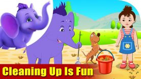 Cleaning Up is Fun – Environmental Song in Ultra HD (4K)
