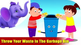 Throw Your Waste In The Garbage Bin – Environmental Song in Ultra HD (4K)