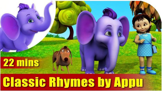 20 Best Classic Baby Nursery Rhymes from Appu