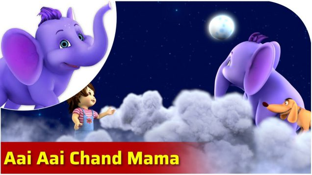 Aai Aai Chand Mama – Bengali Nursery Rhyme for Children in 4K by Appu Series